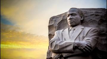 Martin Luther King Jr Memorial. The statue memorial for Martin Luther King Jr. in West Potomac Park, Washington D.C.