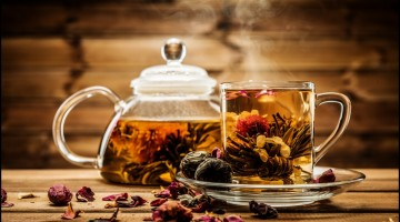 The health benefits of blooming tea flower