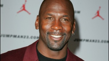 American basketball legend Michael Jordan at a Special Dinner hosted by him at the Roundhouse in October 2006