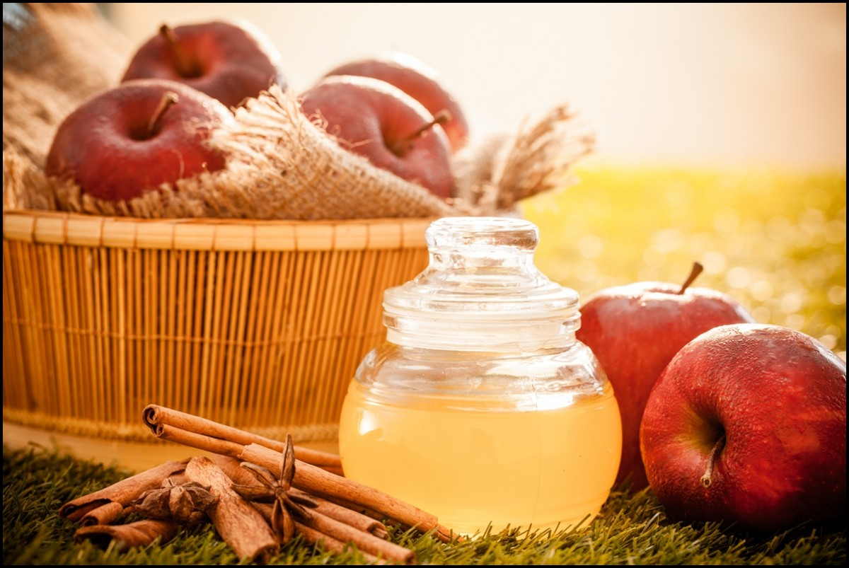 A very healthy drink Apple cider vinegar