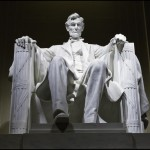 Abraham Lincoln Memorial statue, Washington, DC