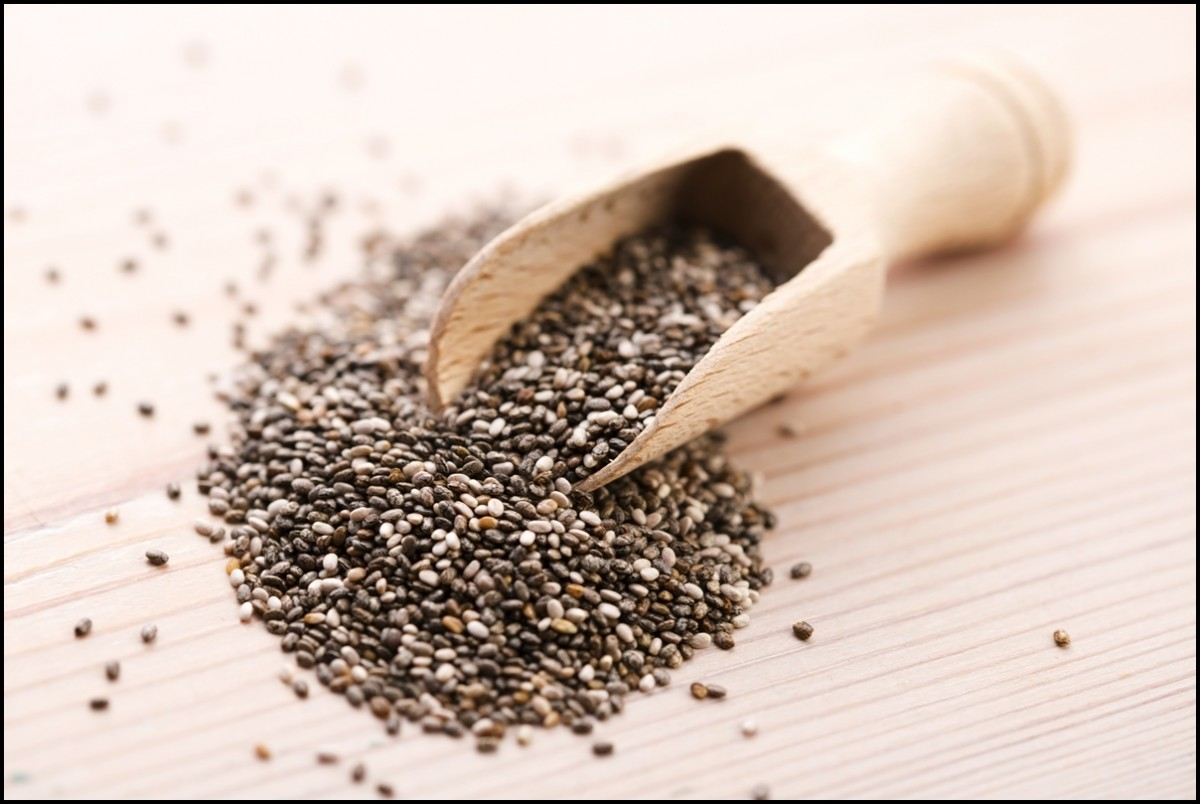 Chia seeds with full of Nutritious and Health Benefits