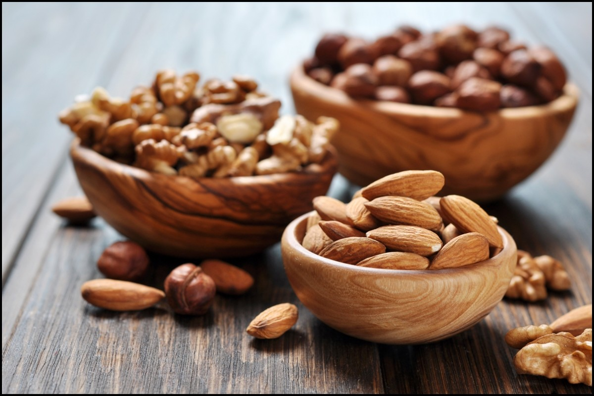 Consider eating healthy nuts such as Almonds, Macadamia nuts and Pecans for a healthier and happier lifestyle