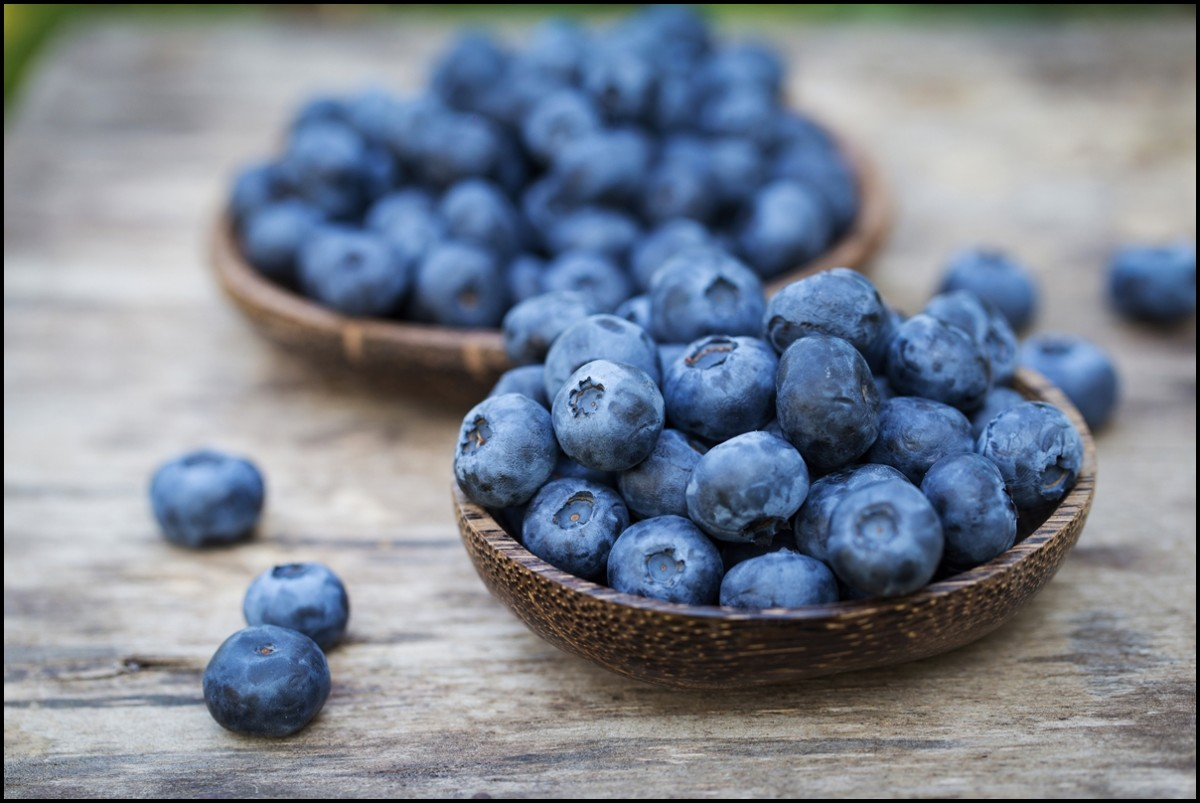 Eat Blueberries for better health and happiness