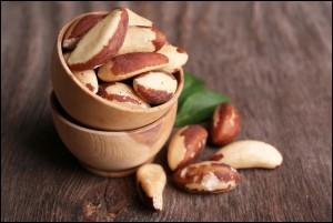 Fresh and tasty brasil nuts