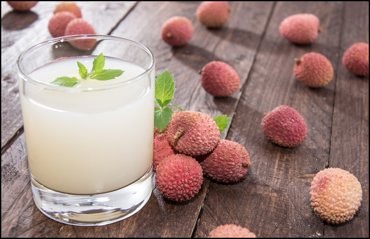 Fresh made Lychee Juice