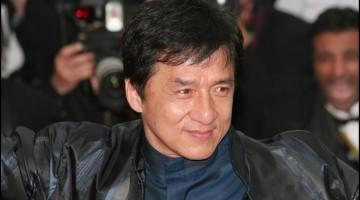 Jackie Chan attends the La Silence de Lorna premiere at the Palais des Festivals