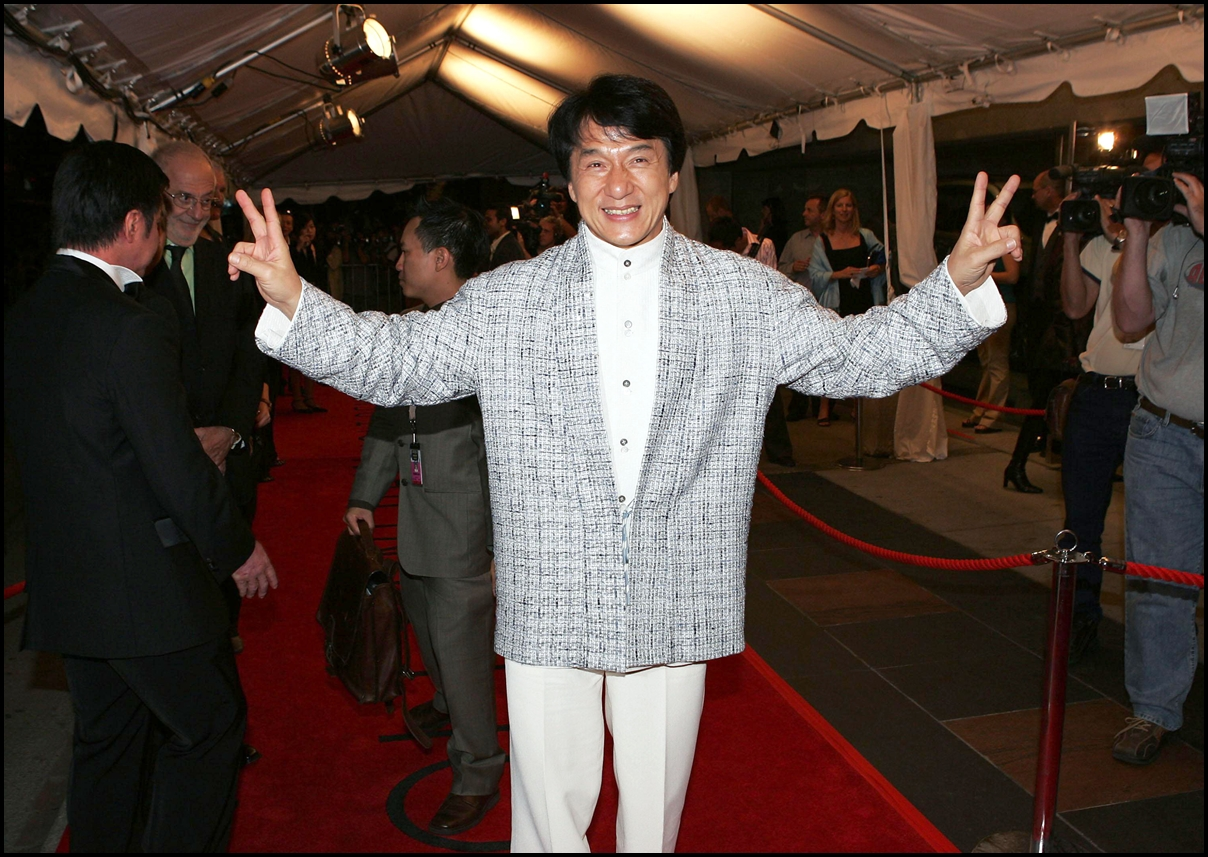 Jackie Chan at THE MYTH Premiere at Toronto Film Festival