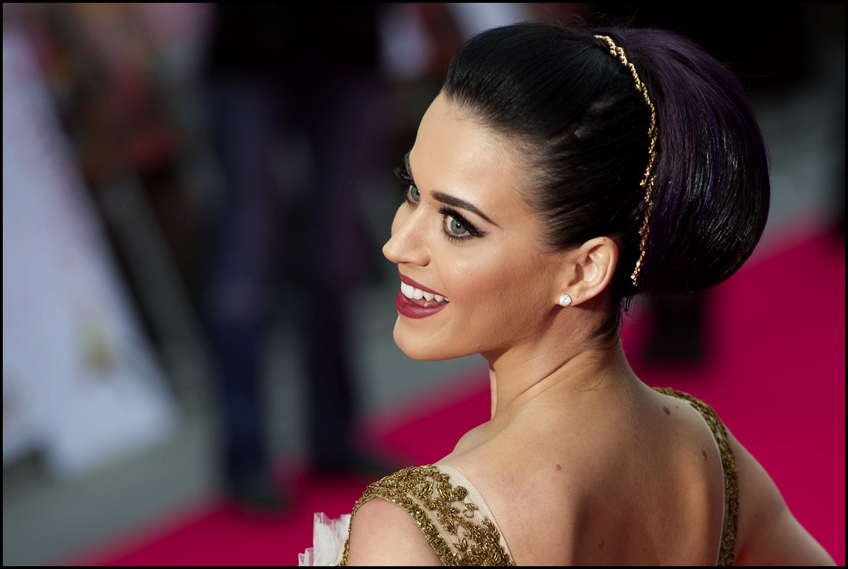 Katy Perry arriving for the 'Katy Perry, Part Of Me 3D' premiere, at Empire Leicester Square, London - 2012.