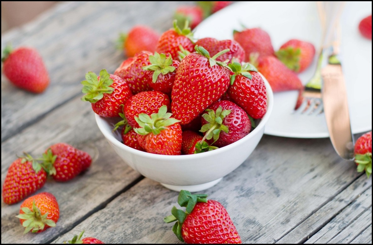 Lead a healthier and happier life with strawberries