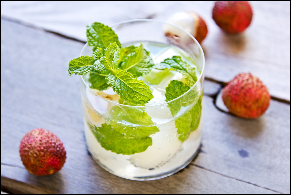 Image result for lychee mint te