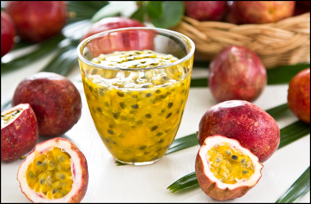 Natural Passion fruit juice