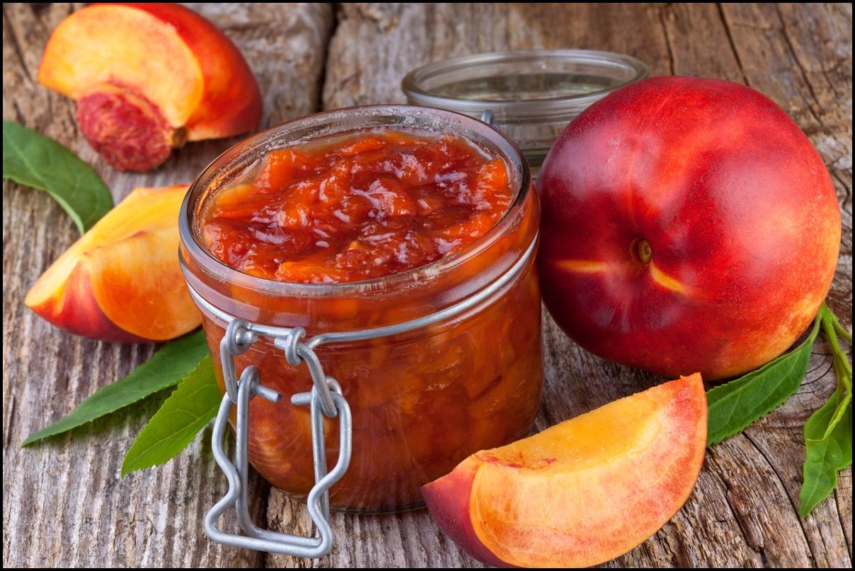 Nectarine (peach) jam
