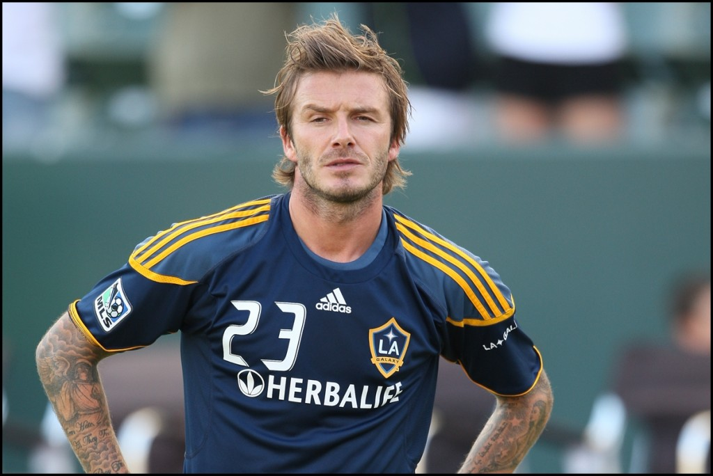 October 3, 2010 - Los Angeles Galaxy David Beckham #23 before the Chivas USA vs Los Angeles Galaxy game at the Home Depot Center in Carson