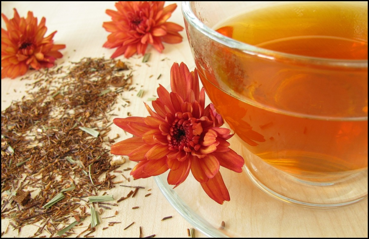 Reasons to Drink Rooibos tea. The health benefits of Rooibos tea