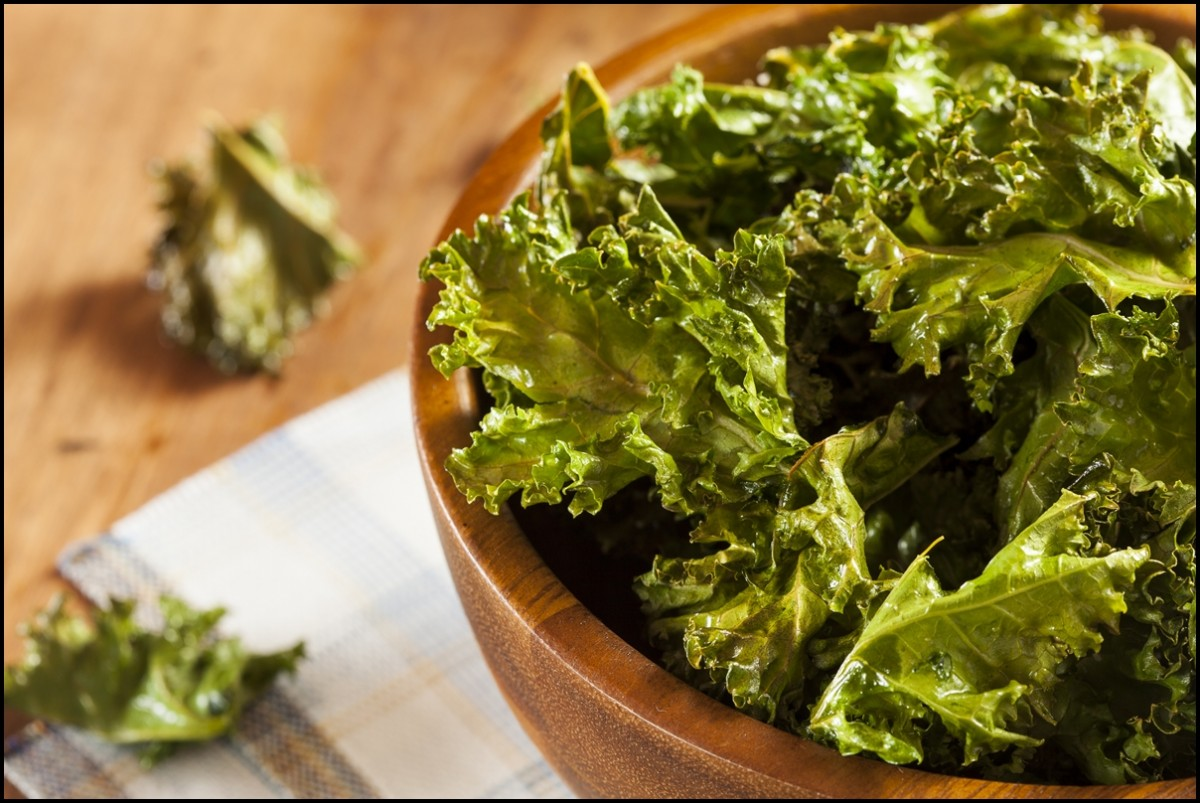 Reasons to eat Kale - The Health Benefits of Kale Chips