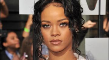 Rihanna at the 2014 MTV Movie Awards at the Nokia Theatre LA Live. April 2014.