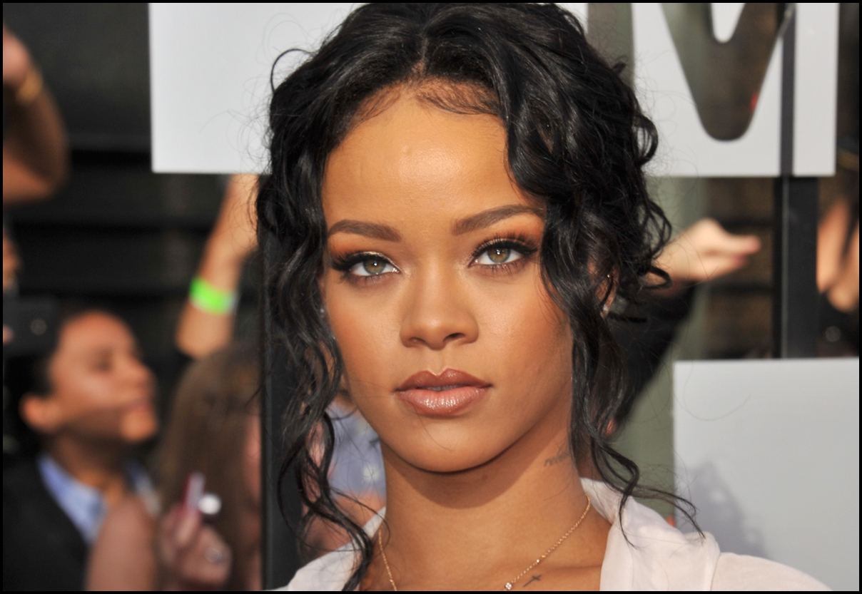 Rihanna at the 2014 MTV Movie Awards at the Nokia Theatre LA Live. April 2014.
