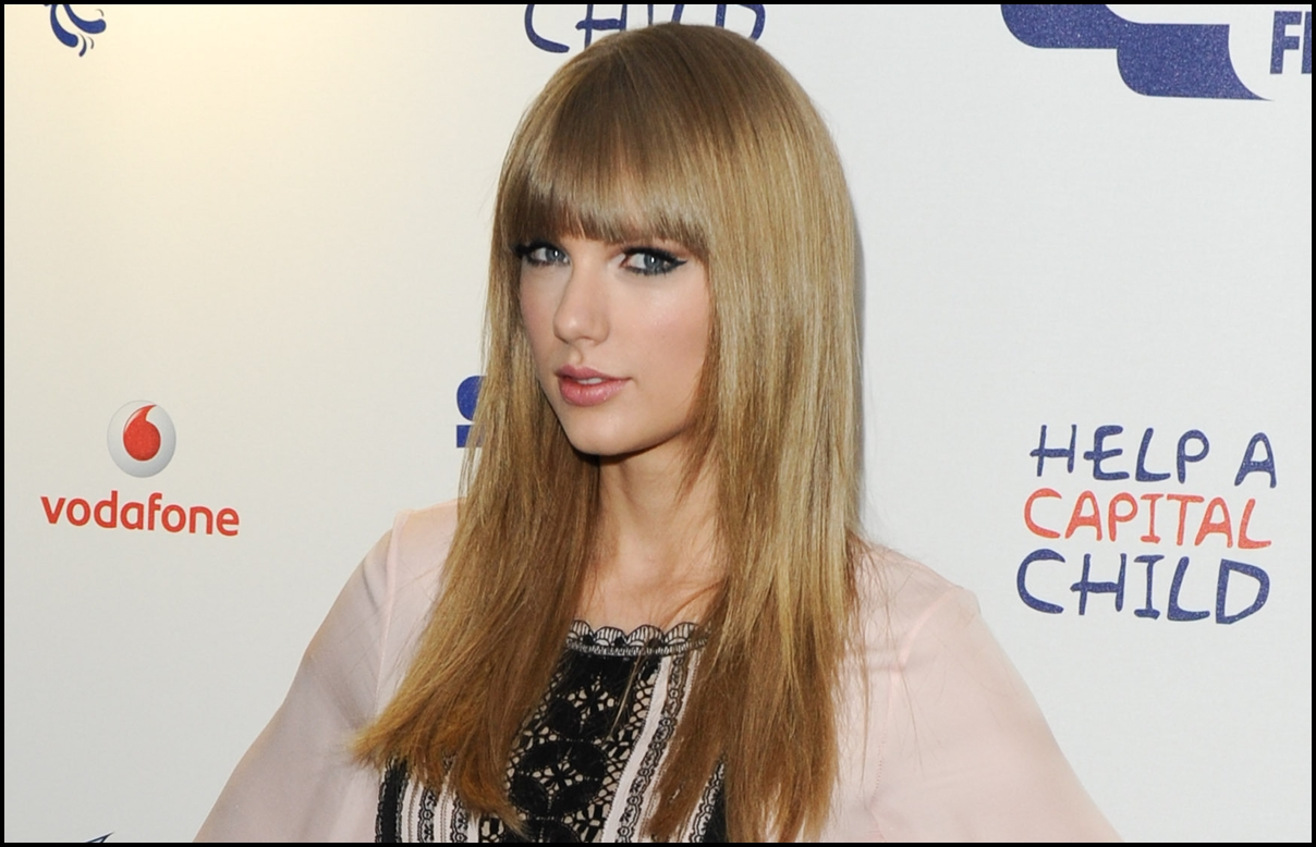 Taylor Swift at the Capital FM Summertime ball 2013 held at Wembley Stadium, London.