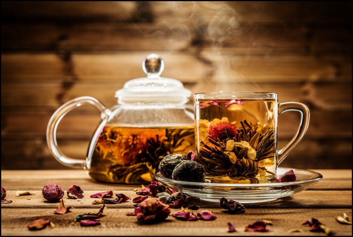 Chinese flower tea - The Health Benefits Of Blooming Tea Flower