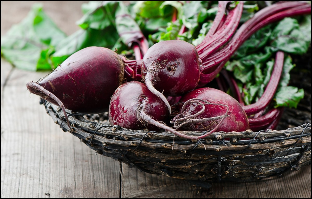 beetroot close up