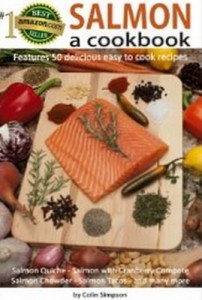 SALMON a cookbook by Colin Simpson