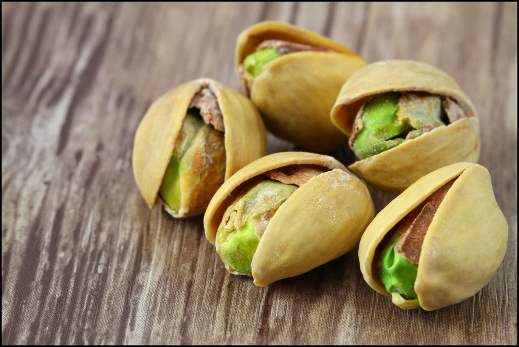 Different types of nuts - Pistachios