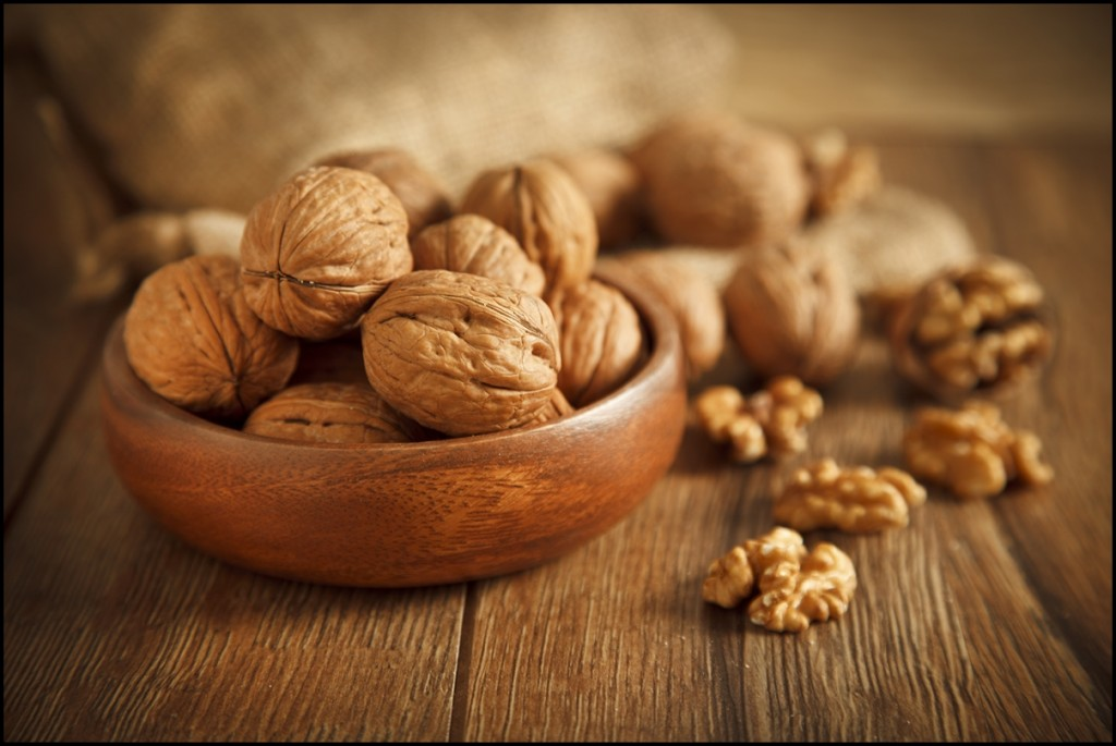 Different types of nuts - Walnuts