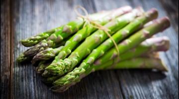 Fresh Asparagus Close Up