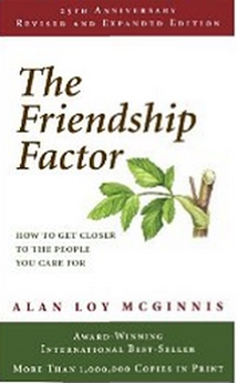 Friendship Factor by Alan Loy Mcginnis