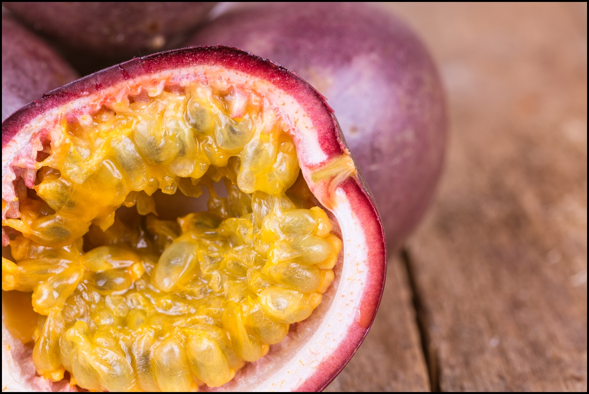 how to serve passion fruit