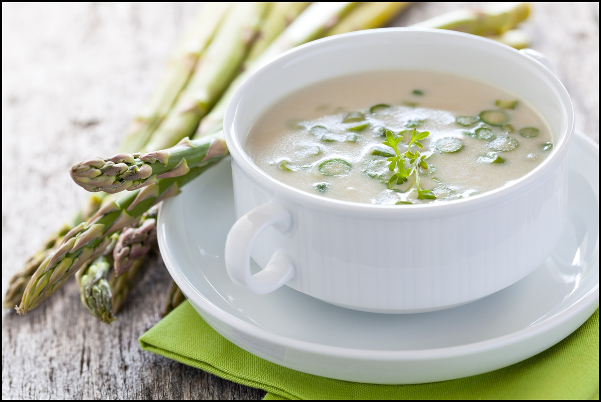 fresh asparagus soup - Serving Joy - Inspire Through Sharing